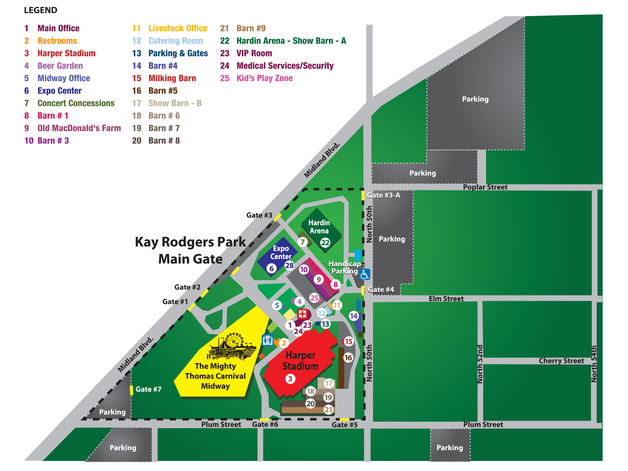 Arkansas Oklahoma State Fair | Map on
